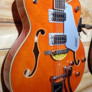 Gretsch® G5422T Electromatic Hollow Body Double-Cut Guitar Orange Stain